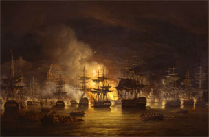 Bombardment of Algiers by Lord Exmouth
